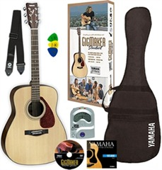 buying entry guitar yamaha pack
