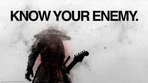 guitar roadblocks - know your enemy