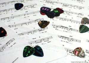 practice essentials - guitar picks